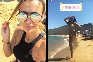 Marina i Sara Boruc razem na wakacjach