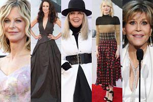 Hollywoodzkie gwiazdy składają hołd Diane Keaton: Emma Stone, Meg Ryan, Jane Fonda... (ZDJĘCIA)