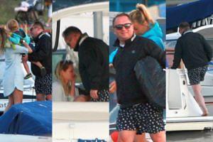 Kamil Durczok w szortach w kotwice zabrał dziewczynę na jacht (ZDJĘCIA)