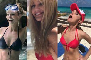 Coraz młodsza Izabella Scorupco pozuje w bikini. Seksowna? (ZDJĘCIA)