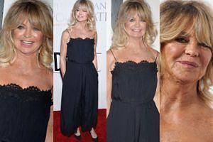 Opalona, 71-letnia Goldie Hawn promienieje na ściance w Nowym Jorku (ZDJĘCIA)
