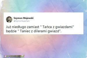 """Szymon Majewski: """"Niedługo będzie """"Taniec z dilerami gwiazd"""""""""""
