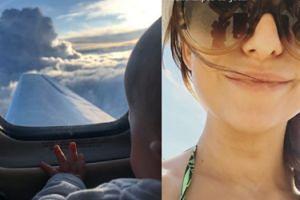 Lewandowska poleciała z Klarą na wakacje! Fanki już się kłócą... (FOTO)