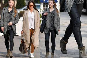 """Iga Lis pokazała """"nogi modelki"""" z mamą na spacerze! (ZDJĘCIA)"""