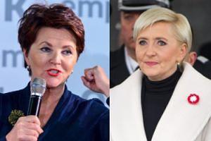 """Kwaśniewska apeluje do Agaty Dudy: """"Ja się dobrze czuję, GDY PATRZĘ NA SWOJE ODBICIE. Pani Agato, SIŁA W KOBIETACH!"""""""