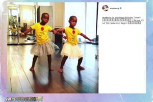 Madonna świętuje urodziny adoptowanych bliźniaczek