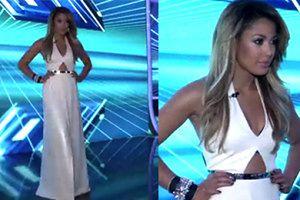 """Kazadi w białej sukni w finale """"X Factor""""!"""