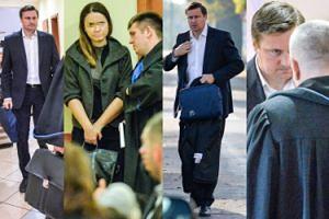 TYLKO U NAS: Tak wygląda rozwód Zbonikowskiego: zadowolony adwokat i smutna żona... (ZDJĘCIA)