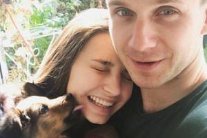 Wieniawa i Królikowski chwalą się pieskiem (FOTO)