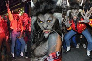 Heidi Klum przebrała się za wilkołaka z teledysku Jacksona! (ZDJĘCIA)