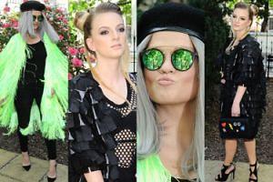 Margaret w zielonym futrze i Sarsa na imprezie Polsatu (ZDJĘCIA)