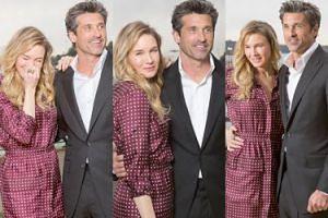 """Renee Zellweger i Patrick Dempsey promują nowy """"Dziennik Bridget Jones"""" w Sydney (ZDJĘCIA)"""