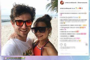 Antek Królikowski i Julia Wieniawa łapią słońce na Dominikanie