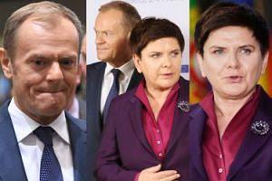 Skrępowani Tusk i Szydło pozują na szczycie Partnerstwa Wschodniego (ZDJĘCIA)