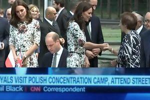 """WPADKA W CNN! Relacjonowali wizytę Kate i Williama w """"polskich obozach koncentracyjnych""""!"""