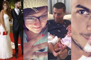 """ZDJĘCIA TYGODNIA: Bliźniaki Ronaldo, """"egzotyczna Barbie"""" i ślub Messiego!"""