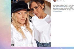 Jessica Mercedes pozuje z Victorią Beckham (FOTO)
