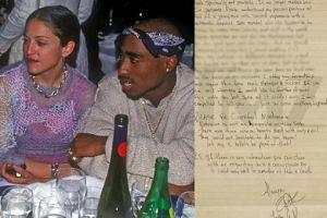 Ujawniono list, który 2Pac napisał do Madonny. Rzucił ją, bo... była biała?