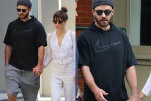 """""""Szczęśliwi"""" Justin Timberlake i Jessica Biel spacerują po Nowym Jorku... (ZDJĘCIA)"""