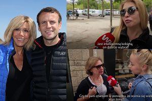 """Francuzi o związku Macrona: """"Co ma prezydentura do wieku małżonki? Jest inteligenta, DOBRZE WYBRAŁ!"""""""