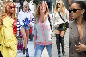 Najciekawsze uliczne stylizacje tygodnia: Rozenek, Zawadzka, Beyonce...