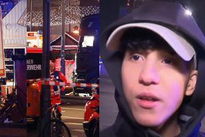 """Świadek zamachu w Berlinie: """"Ciężarówka po prostu przejechała po ludziach"""""""