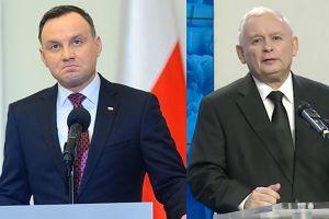 """Kaczyński wbija szpilę Dudzie: """"24 lipca zmieniły się okoliczności polityczne. Proces zmian jest trudniejszy!"""""""
