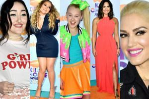 Kids' Choice Awards 2017: Mariah Carey, Noah Cyrus, Demi Lovato, Gwen Stefani... (ZDJĘCIA)