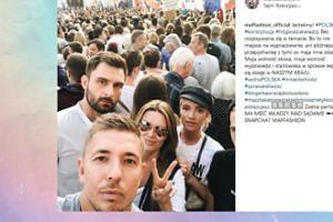 Celebryci protestują przeciw zmianom w sądownictwie: Hania Lis, Maffashion, Szulim, Piróg i inni (FOTO)