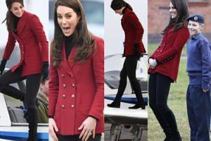 Księżna Kate ćwiczy w ośrodku szkolenia kadetów (ZDJĘCIA)