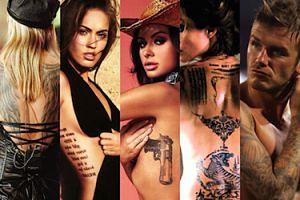 Najlepsze i najgorsze tatuaże gwiazd! (ZDJĘCIA)