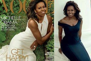"""Michelle Obama na ostatniej okładce """"Vogue'a"""" jako Pierwsza Dama! (FOTO)"""