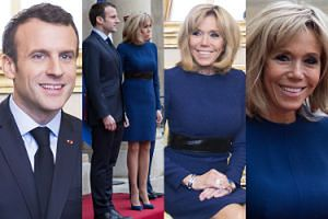 Macronowie suszą zęby na spotkaniu z książęcą parą Luksemburga (ZDJĘCIA)