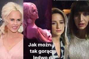 """Dębska i Kamińska obgadują Iwonę Burnat na Instagramie: """"Jest bardzo głośno i bardzo gorąco. TU JEST PIES, ludzie ledwo oddychają, a tam jest zwierzę ubrane!"""""""