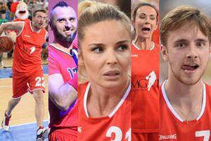 Radwańska, Musiał, Dudek i Stramowski grają z Gortatem w koszykówkę (ZDJĘCIA)