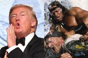 """Schwarzenegger kłóci się z Trumpem na Twitterze: """"Powinniśmy po prostu zmiażdżyć mu twarz o stół!"""""""