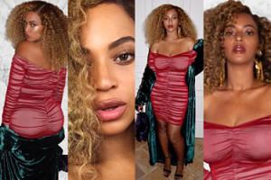 Beyonce wypina pupę i piersi DWA MIESIĄCE po porodzie. Seksowna? (ZDJĘCIA)