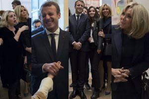 Brigitte Macron z mężem podziwiają dzieła Picassa (ZDJĘCIA)