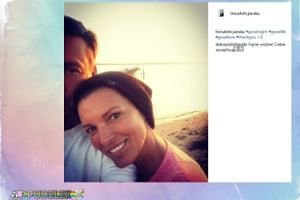 Zakochana Felicjańska pozuje z partnerem. Gojdź komentuje