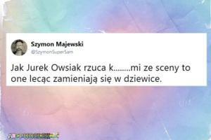 Szymon Majewski o przekleństwach Owsiaka