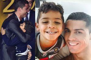 """Ronaldo o swoim synu: """"Nie potrzebuje matki, ma mnie!"""""""
