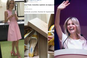 """Magda Ogórek SPRZEDAJE UŻYWANE UBRANIA na Facebooku! """"Buty Prada, sądziłam, że wejdę w 38"""""""