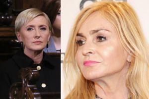 """Monika Olejnik wytyka bierność Agacie Dudzie: """"Maria Kaczyńska potrafiła walczyć o prawa kobiet, NIE BYŁA NIEMA"""""""