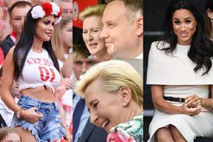 """ZDJĘCIA TYGODNIA: Roześmiani Dudowie, księżna Meghan bez męża i nowa """"miss mundialu""""..."""