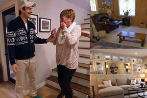 Kutcher zrobił niespodziankę mamie! Wyremontował cały jej dom!