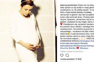 """Katarzyna Zielińska o ciąży: """"Czuję się bardzo sexy"""""""