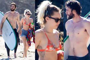 Związek Miley Cyrus i Liama Hemswortha kwitnie na plaży w Malibu (ZDJĘCIA)