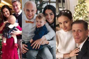 Tak polskie WAGs świętują Boże Narodzenie: pozowanie przy choince i selfie z rodziną (ZDJĘCIA)