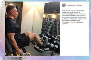 49-letni Kamil Durczok realizuje postanowienia noworoczne