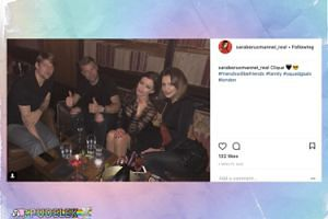 Borucowie imprezują z przyjaciółmi w Londynie